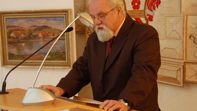 Cenu města Prachatice obdržel i MUDr. Jan Antonín Mager.