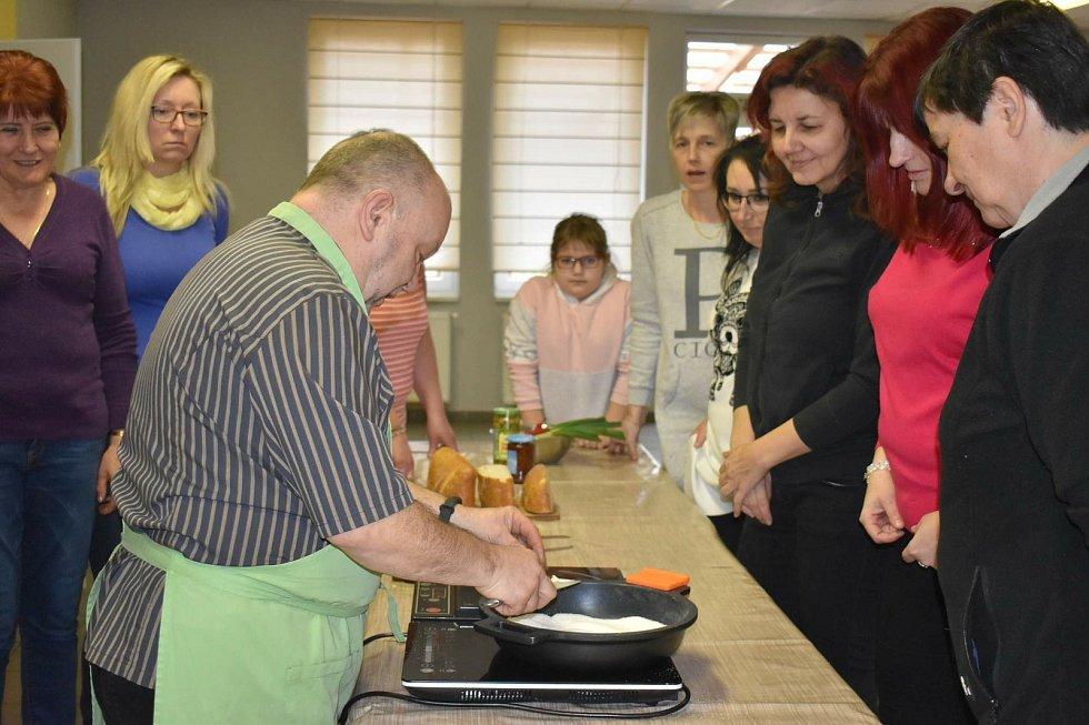 Kurz vaření s Petrem Stupkou.