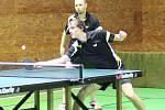 Stolní tenisté Libína Prachatice měli derby dobře rozehrané, ale tíhu zápasu nakonec neunesli a prohráli 6:10.