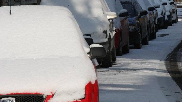 Příští týden má přijít sněžení.