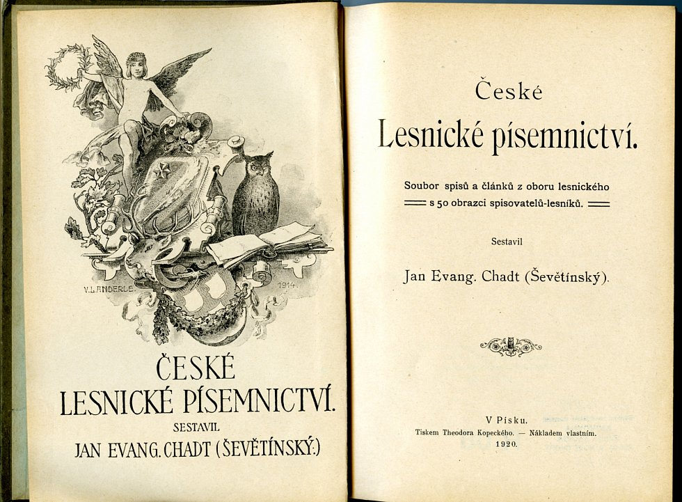 Sbírkový předmět České lesnické písemnictví, NZM Ohrada