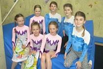 Gymnastkám se v Českých Budějovicích dařilo.