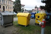 Ještě letos by mohly zmizet kontejnery na tříděný odpad z očí. Vimperští je chtějí mít pod zemí.