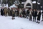Lyžníci měli v sobotu tradiční setkání ve Kvildě.