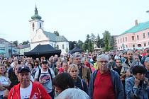 Dva dny se ve Volarech lidé bavili při Slavnostech dřeva.