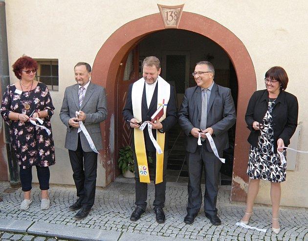 Vúterý 10.září byl slavnostně otevřen Domácí hospic sv. Jakuba vPrachaticích.