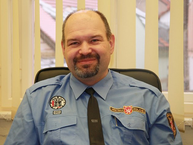 Ředitel Městské policie Prachatice Ivo Novotný