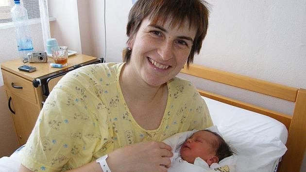 Anežka Fučíková se mamince Martině narodila 30. prosince 2010. Je úplně posledním miminkem loňského roku na Prachaticku.