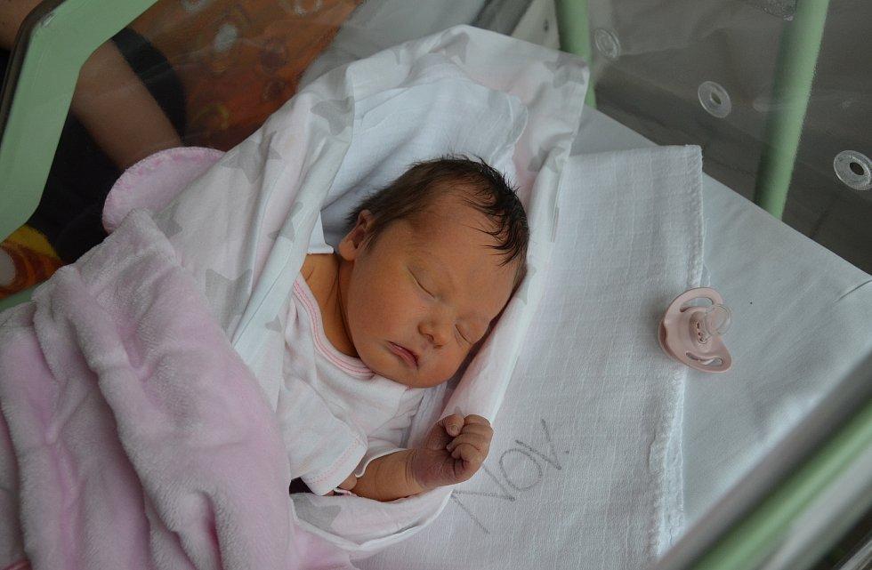 PATRICIE KŮRKOVÁ, ZÁLEZLY. Narodila se ve čtvrtek 23. ledna ve 4 hodiny a 17 minut v písecké porodnici. Vážila 3100 gramů a měřila 49 cm. Má sestřičku Šarlotu (3 roky). Rodiče: Martina a Jiří Kůrkovi.