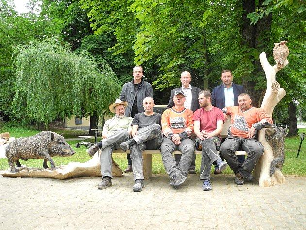 Dřevosochaři se těší do Vimperka.