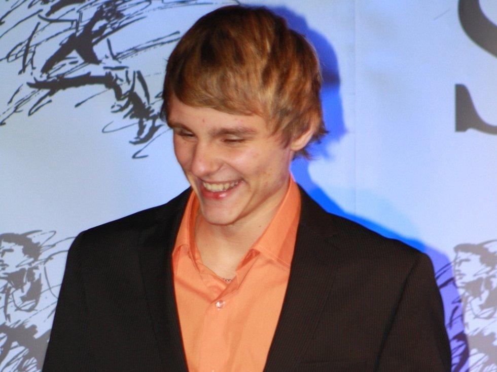 Fotbalista josef Šandera skončil osmý.
