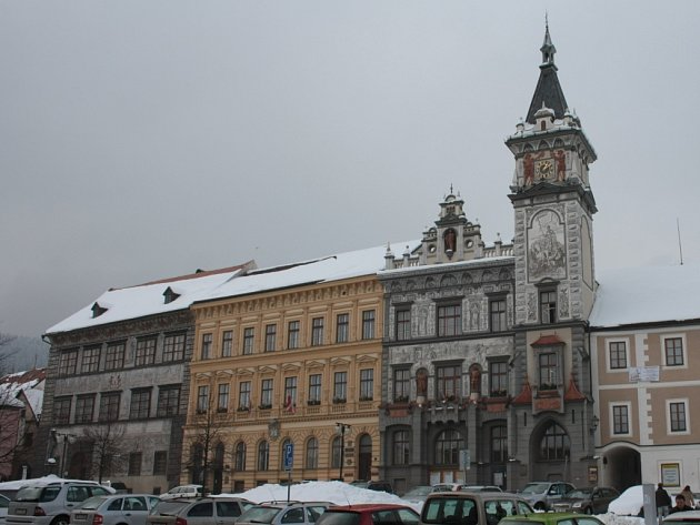 Budova Městského úřadu v Prachaticích. Ilustrační foto