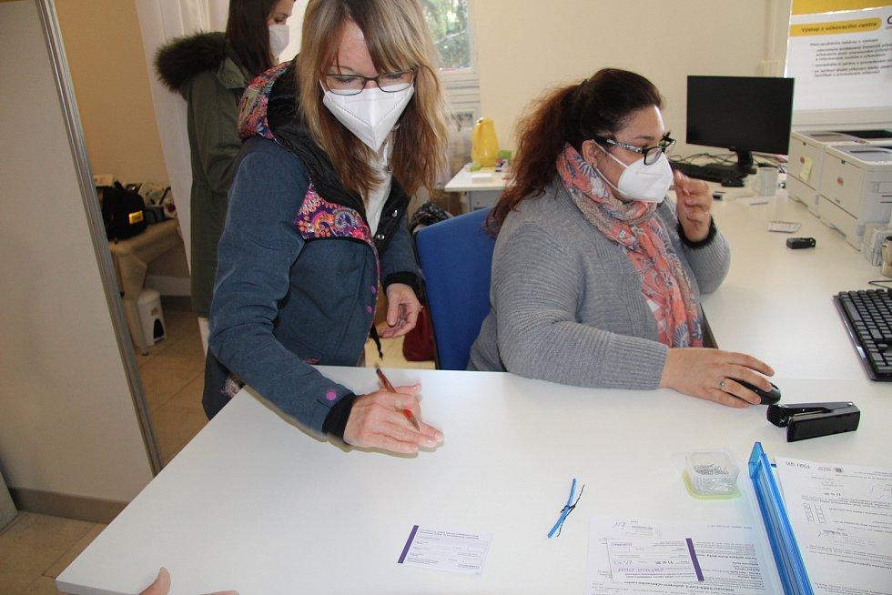 Očkovací centrum v Prachaticích zahájilo zkušební provoz.