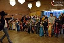 Vimperské děti se bavily na karnevalu.
