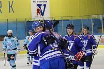 Vimperští hokejisté porazili Milevsko 4:3.