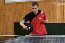 Pokračovaly okresní soutěže stolních tenistů na Prachaticku.