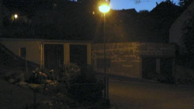 Borovoladští chtějí obnovit veřejné osvětlení. Ilustrační foto.