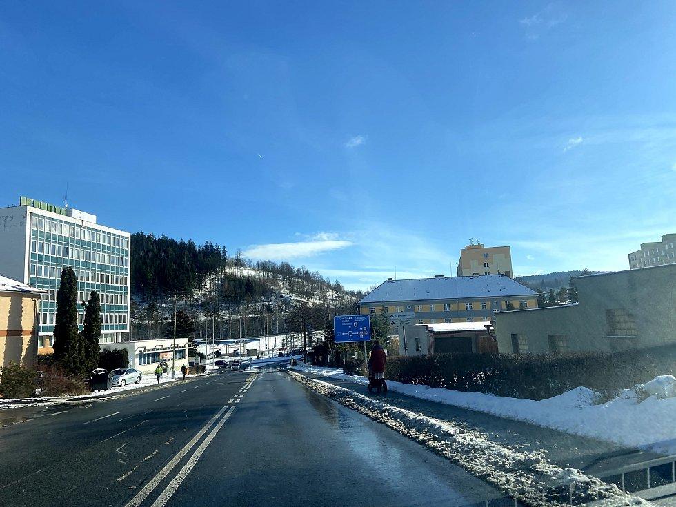 Radar nechali Vimperští umístit do Sušické ulice.