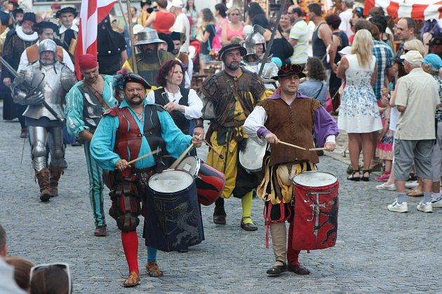 Slavnosti Zlaté stezky vPrachaticích. Ilustrační foto