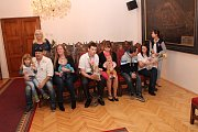 V obřadní síni města se sešli noví obyvatelé města Prachatice.