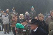 Pohřeb Tomáše Procházky v jeho rodných Prachaticích.