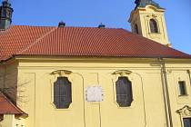 Kostel nejsvětější Trojice v Dobříši.