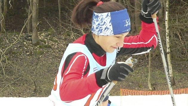Olesya Samadovská vyhrála v Novém Městě sprint volnou technikou.
