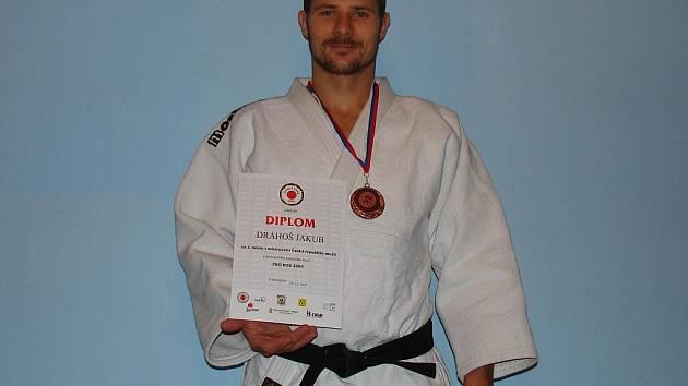 Jakub Drahoš byl třetí na MČR.
