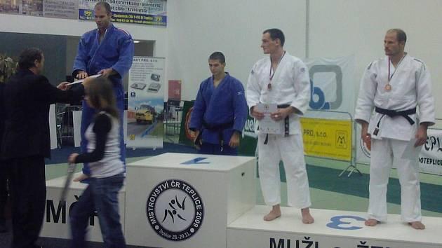 Jakub Drahoš (vpravo) byl třetí na MČR.