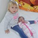 Mia Christová z Prachatic. Dominika Kletečková a Karel Christ se těší z druhé dcerky, která se narodila 20.  března ve 13.14 hodin. Při narození vážila 3340 g a měřila 48 cm. Malá Mia má sestřičku Leontinku (1,5 roku).