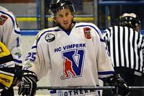 David Vinš povede hokejisty Vimperka v roli kapitána.