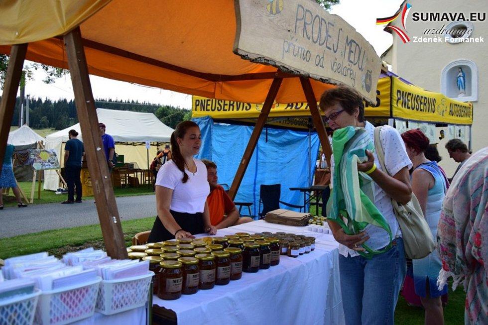 Slavnosti medu ve Včelné pod Boubínem 2018.