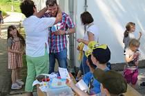 Ve čkyňské mateřské škole slavili poprvé Den otců.