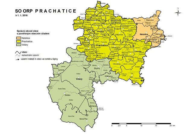 Mapka Prachaticka.