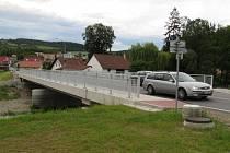 Zrekonstruovaný most ve Čkyni