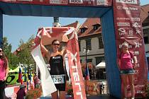 Barbora Hlaváčová, vítězka Xterra Easy Prachatice.