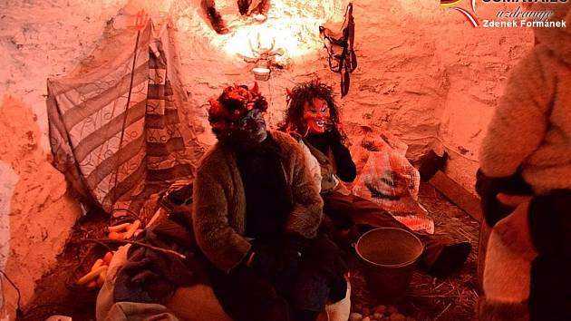 Brány vimperského pekla se otevřely v úterý 4. prosince.