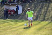 Fotbalová I.B třída pokračovala dalšími zápasy. Ilustrační foto.