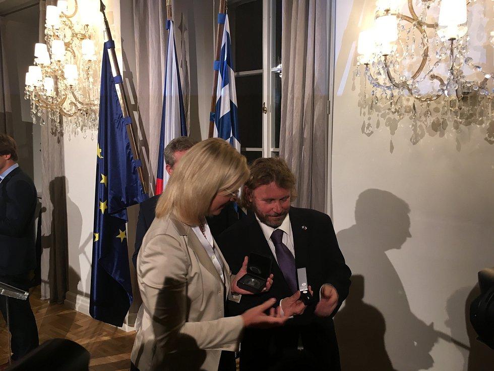 Ředitel Správy NP Šumava Pavel Hubený obdržel významné bavorské ocenění.