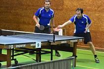 Pokračovaly boje v okresních soutěžích stolních tenistů. Ilustrační foto
