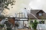 Požár domu ve Dvorech na Prachaticku způsobil škodu za více než tři milióny korun.