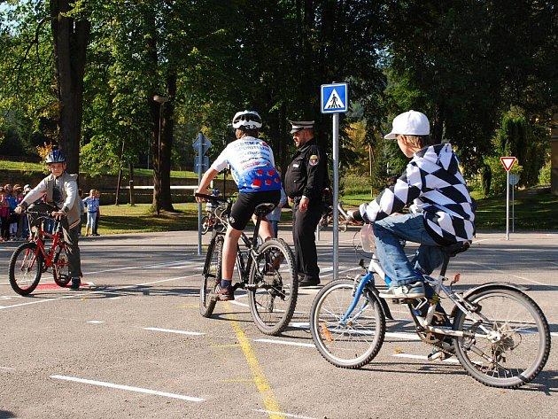Nové dopravní hřiště slouží od úterý 27. září dětem nejen z Vimperku.