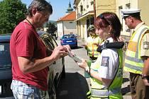 Dopravní policisté spojili síly.