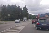 Prachatice ucpala dopravní špička.