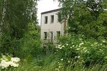 Vila bývalé mateřské školy v Nádražní ulici v Prachaticích.