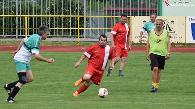 Turnaj fotbalových starých gard v Prachaticích.