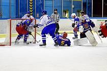 Vimperští hokejisté porazili Telč 5:4.