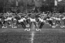 Spartakiáda 1980 ve Vimperku.