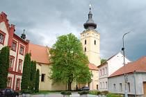 Kostel v Netolicích.