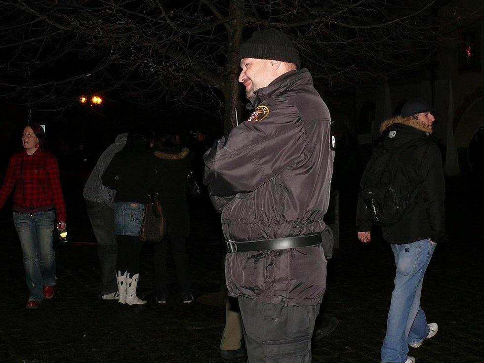 Tentokrát byla silvestrovská služba klidná, ředitel MP Prachatice Ivo Novotný má k úsměvu důvod.